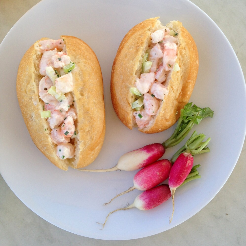 shrimp rolls. by delish thoughts.
