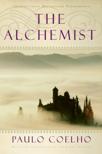The Alchemist book cover by Paulo Coelho